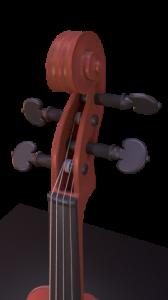 CGI Violin